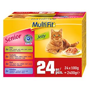 MultiFit Jelly senior 24x100g