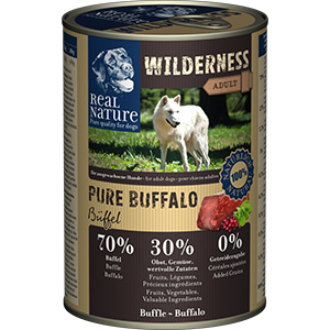 Real Nature Wilderness konzerv adult bivaly 400g