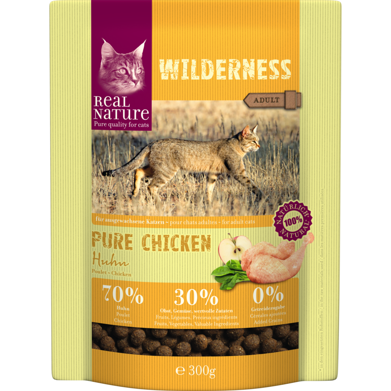 Real Nature Wilderness adult csirke 300g
