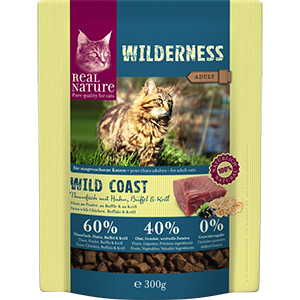 Real Nature Wilderness adult tonhal&bivaly 300g