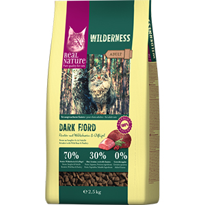 Real Nature Wilderness adult rénszarvas&vaddisznó 2,5kg