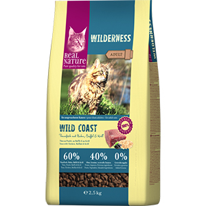 Real Nature Wilderness adult tonhal&bivaly 2,5kg
