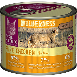 Real Nature Wilderness konzerv adult csirke 200g