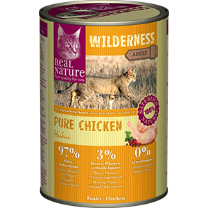 Real Nature Wilderness konzerv adult csirke 400g