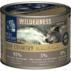 Real Nature Wilderness konzerv senior csirke&lazac 200g