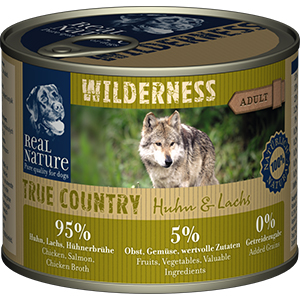 Real Nature Wilderness konzerv adult csirke&lazac 200g