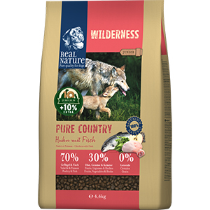 Real Nature Wilderness Junior csirke&hal 4,4kg