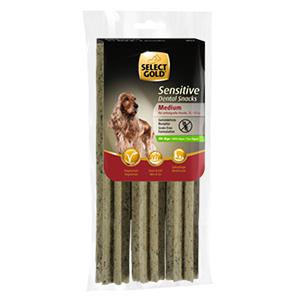 Select Gold Sensitive 168g Dental snack medium alga