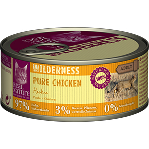 Real Nature Wilderness konzerv adult csirke 100g