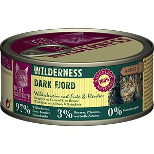 Real Nature Wilderness konzerv adult rénszarvas&vaddisznó 100g