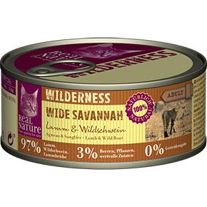 Real Nature Wilderness konzerv adult bárány&vaddisznó 100g