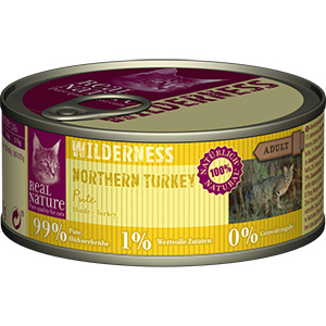 Real Nature Wilderness konzerv adult pulyka 100g