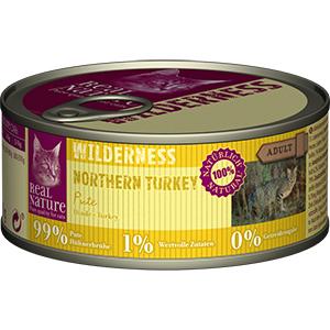 Real Nature Wilderness konzerv adult pulyka 100g