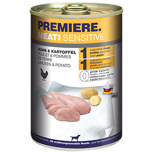 PREMIERE Meati sensitive csirke&burgonya 400g