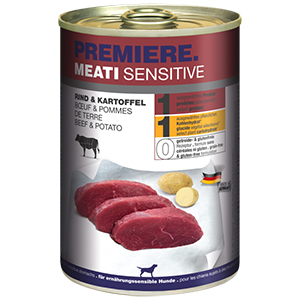 PREMIERE Meati sensitive marha&burgonya 400g