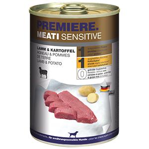 PREMIERE Meati sensitive bárány&burgonya 400g
