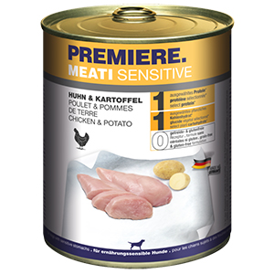 PREMIERE Meati sensitive csirke&burgonya 800g