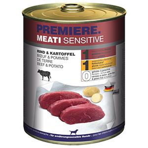 PREMIERE Meati sensitive marha&burgonya 800g
