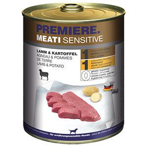 PREMIERE Meati sensitive bárány&burgonya 800g