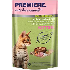 PREMIERE ragu tasak kitten pulyka&lazac 100g
