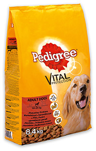 16% kedvezmény – PEDIGREE száraz kutyaeledel 6,5/7/8,4 kg (4-féle)
