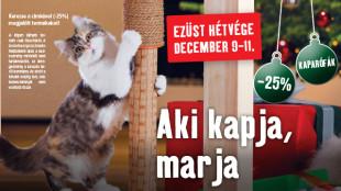 Ezüst hétvége: mehet a macskamóka?
