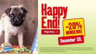 Minden jó, ha a vége jó: újra itt a Happy End akció!