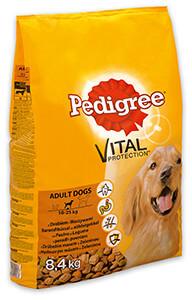16% kedvezmény - Pedigree száraz eledel 6,5kg/8,4 kg (3-féle)