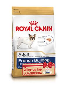Royal Canin French Buldog Adult 9kg+3kg AJÁNDÉK