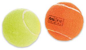 33% kedvezmény - AniOne kutyajáték sípoló teniszlabda 2db 6cm