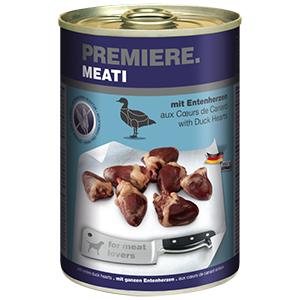 Premiere Meati konzerv adult kacsaszív 400g