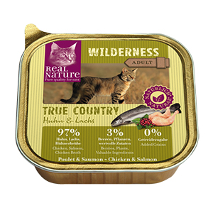 Real Nature Wilderness tálka adult true country 100g