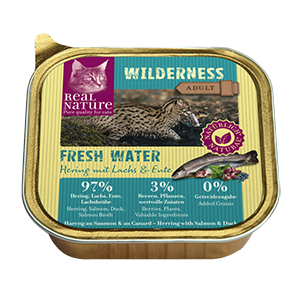 Real Nature Wilderness tálka adult fresh water 100g