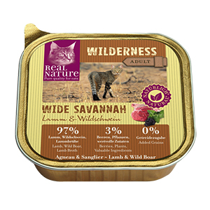 Real Nature Wilderness tálka adult wide savanna 100g
