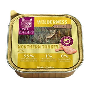 Real Nature Wilderness tálka adult northern turkey 100g