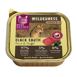 Real Nature Wilderness tálka adult black earth 100g