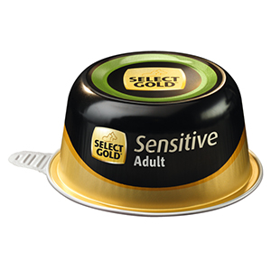 Select Gold Sensitive tálka adult kacsa&burgonya 125g