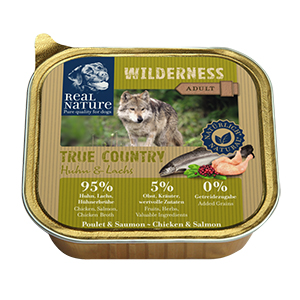 Real Nature Wilderness tálka adult csirke&lazac 100g