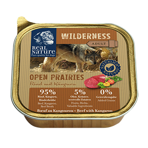 Real Nature Wilderness tálka adult marha&kenguru 100g