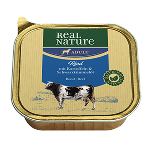 Real Nature tálka adult marha 100g