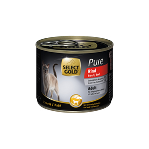 Select Gold Sure konzerv adult marha 200g