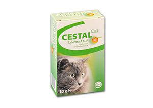 Cestal Cat tabletta A.U.V. 10x 1 tabletta