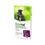 Drontal Plus 150/144/50 mg ízesített tabletta A.U.V. 1 x 6 tabletta
