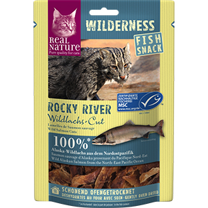Real Nature Wilderness snacklazac Rocky 35g