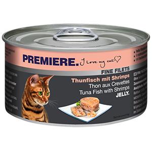 PREMIERE FINE FILETS konzerv adult tonhal&rák 100g