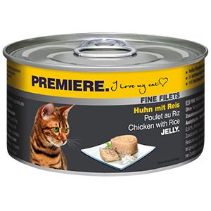 PREMIERE FINE FILETS konzerv adult csirke&rizs 100g