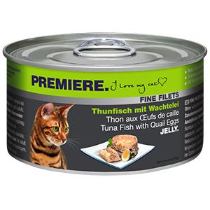 PREMIERE FINE FILETS konzerv adult tonhal&fürjt 100g