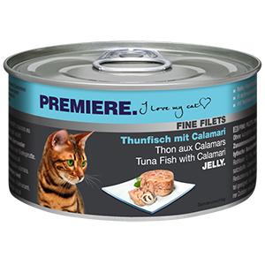 PREMIERE FINE FILETS konzerv adult tonhal&tintahal 100g