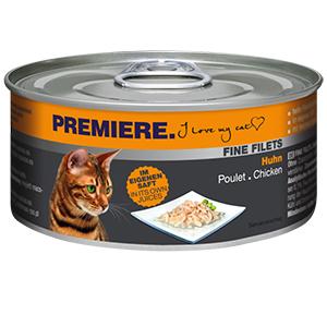 PREMIERE FINE FILETS konzerv adult csirke 80g