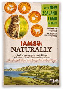20% kedvezmény - IAMS Naturally tasak 85g (4-féle)